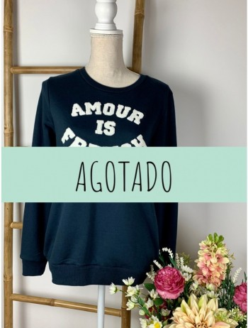 SUDADERA LETRAS RELIEVE