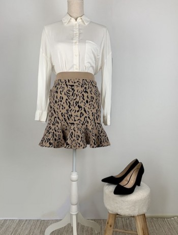 FALDA ESTAMPADO ANIMAL PRINT